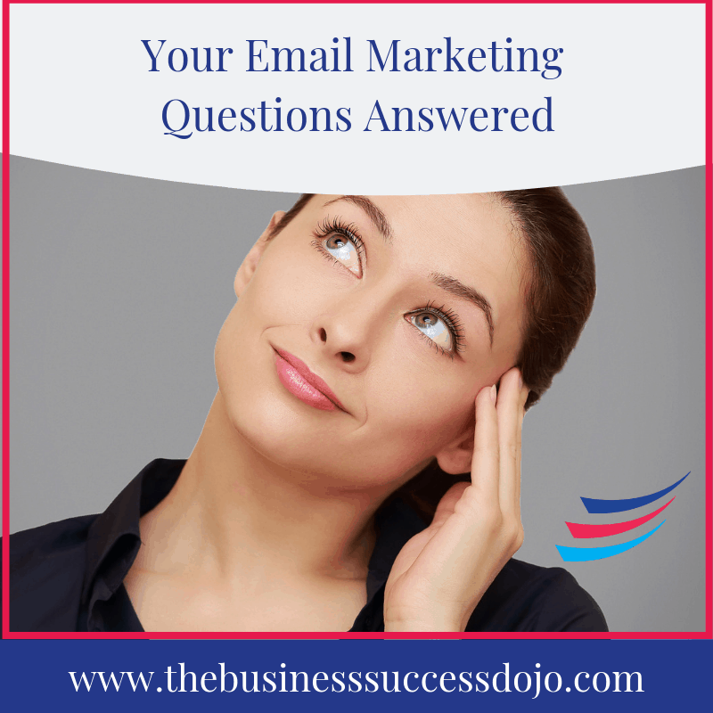 Your Email Marketing Questions Answered