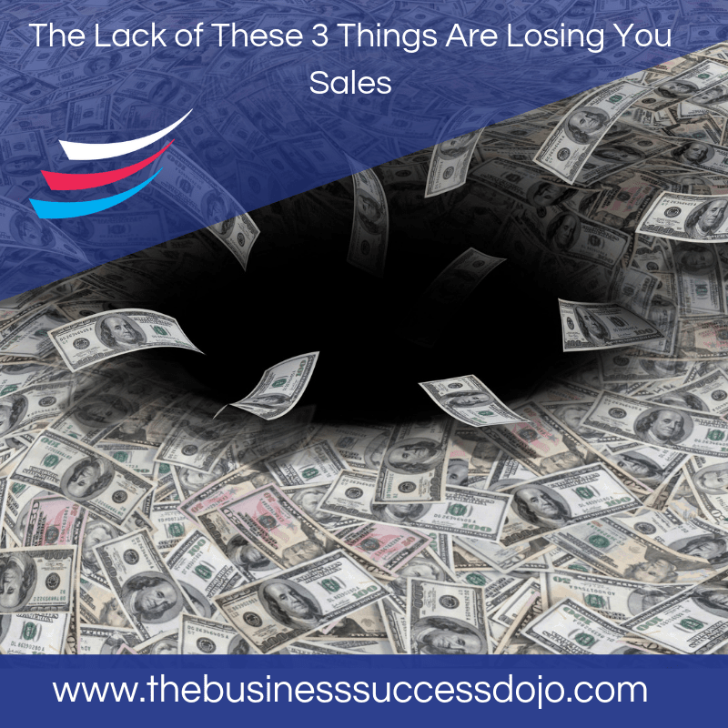 Coaches: The Lack of These 3 Things Are Losing You Sales