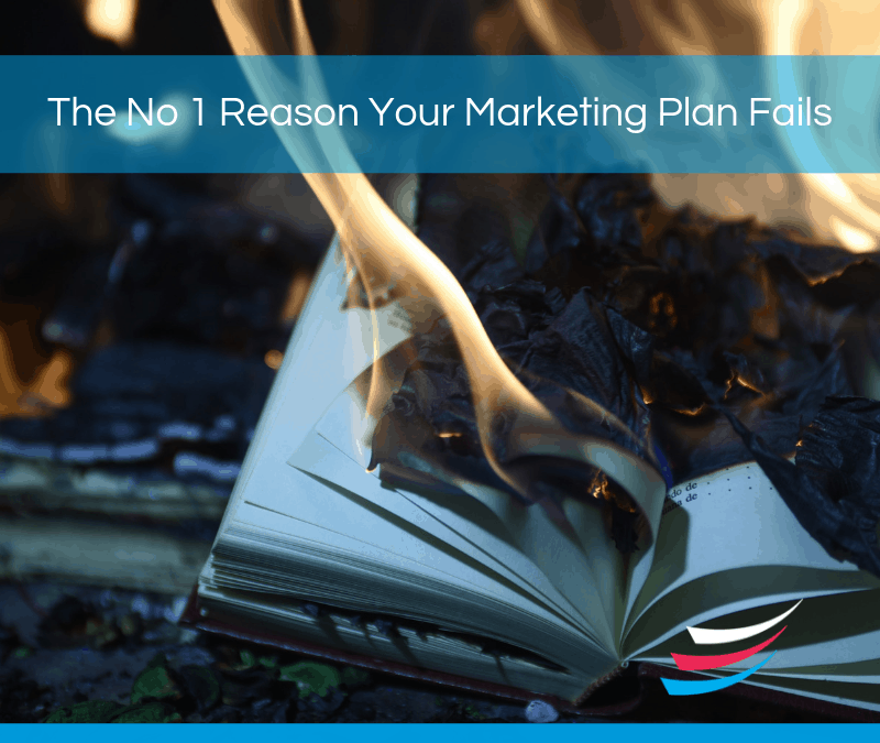 The No 1 Reason Your Marketing Plan Fails…
