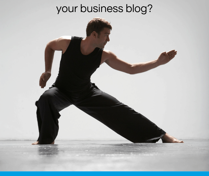 A sales and marketing plan for your business blog?