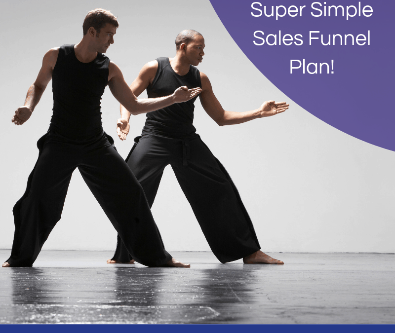 Your 4 Step Super Simple Sales Funnel Plan!