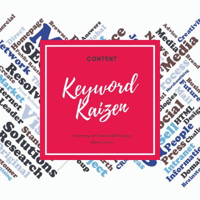 keyword kaizen