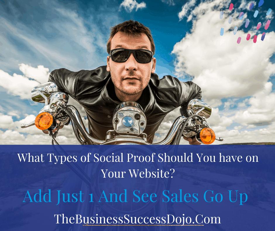 website social proof