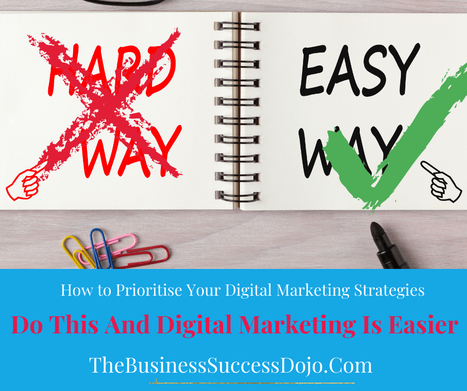 Prioritise Your Digital Marketing